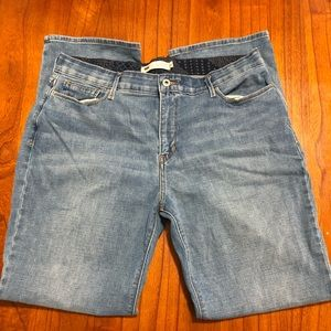 Levi 525 perfect waist straight leg jeans